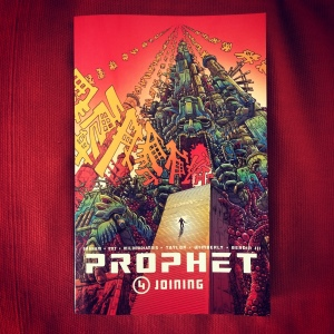 Brandon Graham, Simon Roy, Giannis Milonogiannis, Dave Taylor, Ron Wimberly & Joseph Bergin III Prophet, Volume 4 Joining (2015)