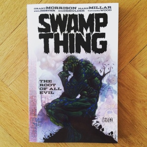 Grant Morrison, Mark Millar, Phil Hester & Kim DeMulder Swamp Thing The Root of All Evil (1994-1995)