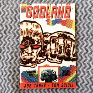 Joe Casey & Tom Scioli Gødland, Volume 1 Hello, Cosmic! (2006)