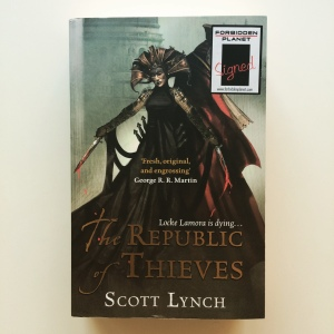 Scott Lynch The Republic of Thieves (2013)