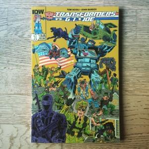 Tom Scioli & John Barber Transformers vs. G.I. Joe, Volume 1 (2014)